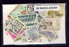 Bangladesh 50 timbres différents