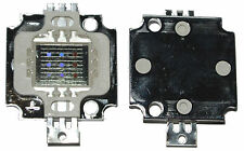 RGB LED Chip 3x3W (10W) Rot Grün Blau Modul 32mil (.8x.8mm) Kristalle High Power