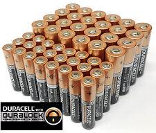 Duracell 24 AA + 24 AAA Batteries Coppertop Alkaline Long Lasting Bulk EXP 2020+