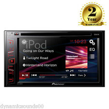 "PIONEER AVH-180DVD 6.2"" Touchscreen Car CD DVD USB Aux iPod 2-Din Car Stereo"