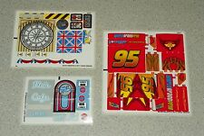 LEGO 8484, 8487 & 8639 - CARS 2 / Lightning McQueen - STICKER SHEETS
