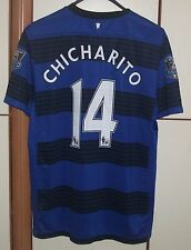 MANCHESTER UNITED 2011-2012 AWAY FOOTBALL SHIRT JERSEY MAGLIA NIKE CHICHARITO 14