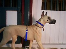 Jaapi Royal Blue large dog collar-fit Breyer Companion Animal, not for real dogs