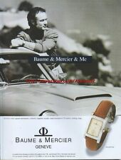 Baume & Mercier Hampton Watch 1997 Magazine Advert #4130