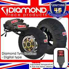 DIAMOND RACE PRODUCTS - NEW! DIGITAL SPEC TYRE WARMERS 120/17 180-200/17