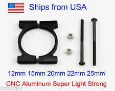 25mm CNC Superlight Aluminum Carbon Fiber Arm Clamp Quadcopter Hexacopter DJI