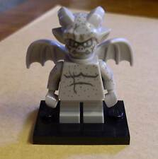 Lego Figur - Gargoyle - Fledermaus ( Bat grau Gargoil ) - Coll. M. Serie 14 Neu