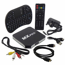 MX Pro Quad Core Android 4.4 Smart TV Box Completamente CARGADO XBMC Kodi con libre Ke..