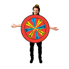 Wheel of Misfortune Fancy Dress Costume Funny 70s 80s TV Dare Game Outfit