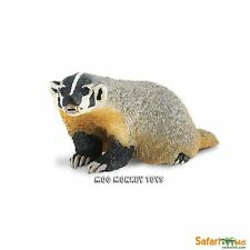 American Badger  Safari Ltd #295429 Woodland Forest Animal collectible toy NWT