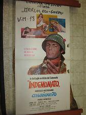 LOCANDINA ORIGINALE DEL FILM INDEMONIATO MONICELLI