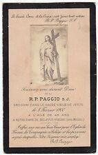 RELIGION / IMAGE PIEUSE / CANIVET / N D DE BELLEVUE YSEURE PRES MOULINS 1900