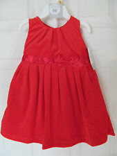 NWT Girl's Carter's Red Valur Sleeveless 2 piece outfitw/ satin bow size 12M