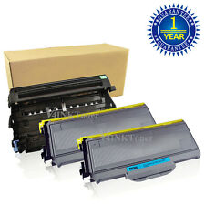 DR360 Drum + 2 TN360 Toner Cartridge For Brother HL-2140 2170W MFC-7340 7840W