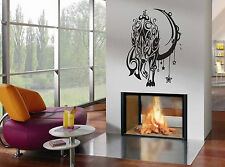Wall Decor Vinyl Decal Sticker Wolf Tribal Style tz992