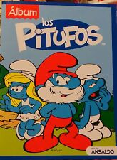 album Smurfs los pitufos + 4 envelopes stickers  Chile
