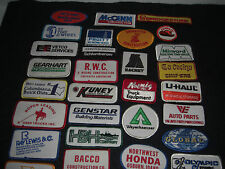 Company Advertising Vintage 1980's Patches Wholesale Lot of 32  Lot #4