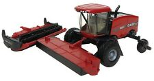 Case IH WD2504 Self-Propelled Windrower 1/64 Scale Die-Cast Toy Tractor