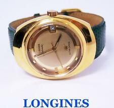 Vintage Gold LONGINES ULTRA-CHRONE Watch c.1970s Cal.431* EXLNT* SERVICED