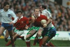 WALES HAND SIGNED PAUL THORBURN 6X4 PHOTO RUGBY UNION 4.