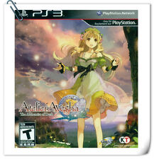 PS3 SONY Playstation Games  Atelier Ayesha: The Alchemist of Dusk RPG Koei