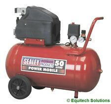 Sealey Tools SA5020 50L 50 Litre 2HP Direct Drive Air Compressor New Boxed
