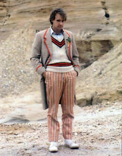 DOCTOR WHO POSTER PAGE . PETER DAVISON - THE CAVES OF ANDROZANI