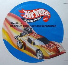 Aufkleber Mattel HOT WHEELS Ultra Hots 80er Sticker Autocollant