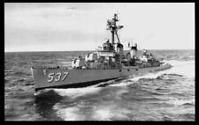 USS The Sullivans DD-537 postcard US Navy Destroyer