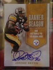 Jerome Bettis, Pittsburgh Steelers - 2016 Prestige Banner Season Auto SP #41/50!