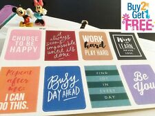 PP107 -- 8 Inspiration Quote Life Planner Stickers for Erin Condren