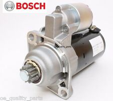 NEW GENUINE BOSCH STARTER MOTOR VW GOLF 3 4 BORA PASSAT CADDY SHARAN POLO 1.9TDI