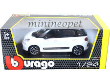 BBURAGO 18-22126 FIAT 500L 1/24 DIECAST MODEL CAR WHITE