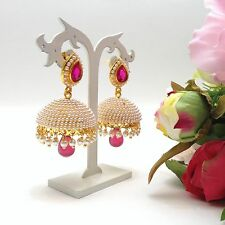 -indian-bridal-jewellery-bollywood-asian-ethnic-wear-polki-earrings-length25