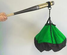Bat Chute by Chute Trainer swing aid increases strength and bat speed Green