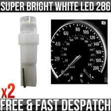 12v 1.2w T5 5mm Super Brillant Blanc LED Cale Tableau De Bord Voiture & Compteur