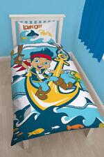 Disney Jake und die Nimmerland Piraten Bettwäsche Sharks Kinder Set 135x200 neu
