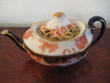ROYAL CROWN DERBY MINIATURE IMARI TEAPOT EARLY 20 CENTURY