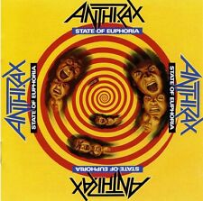 ANTHRAX - State of Euphoria ALBUM COVER POSTER 12x12