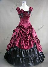 Victorian Belle Vintage Party Prom Dress Ball Gown Theatre Clothing V 270 L