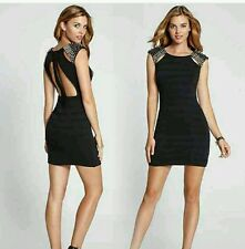 WOW GUESS HILL CREST CAP-SLEEVE DRESS NEW RELEASE IN STORES NOW RT $158