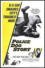 THE POLICE DOG STORY Movie POSTER 27x40
