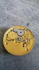 VINTAGE 18 SIZE ELGIN H.H TAYLOR POCKETWATCH MOVEMENT GRADE 80