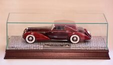 Glass, Wood, and Mirrored Display Case for 1:18 Scale Resin Models