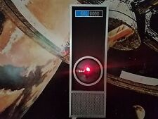 2001: A SPACE ODYSSEY HAL 9000 LIFE SIZE METAL MOTION ACTIVATED LIGHT & SOUND !