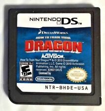 How to Train Your Dragon Nintendo DS 2010 Video Game Rated 10+  Cartridge Only
