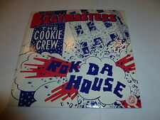 "THE BEATMASTERS featuring THE COOKIE CREW - Rok Da House 1987 UK 7"" vinyl single"