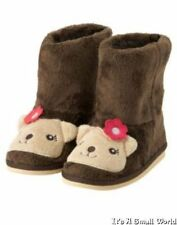 NWT GYMBOREE  Fall For Autumn Hedgehog Brown Faux Fur Fall Boots Shoes  04 4