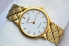 Vintage Tissot Stylist K250 Gold Plated 18kt Quartz Mens Watch 445