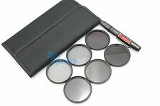 77mm IR720nm+IR850nm+IR950nm IR Infrared +ND2+ND4+ND8 ND filter set +LENS PEN